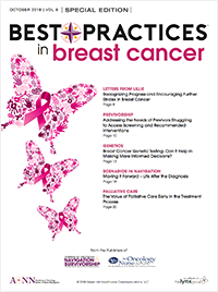 Best Practices in Breast Cancer – October 2018 Vol 9