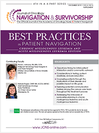 Best Practices in Patient Navigation