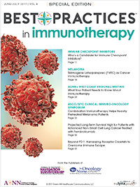 Best Practices in Immunotherapy – June/July 2017 Vol 8