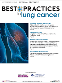Best Practices in Lung Cancer – November 2017 Vol 8